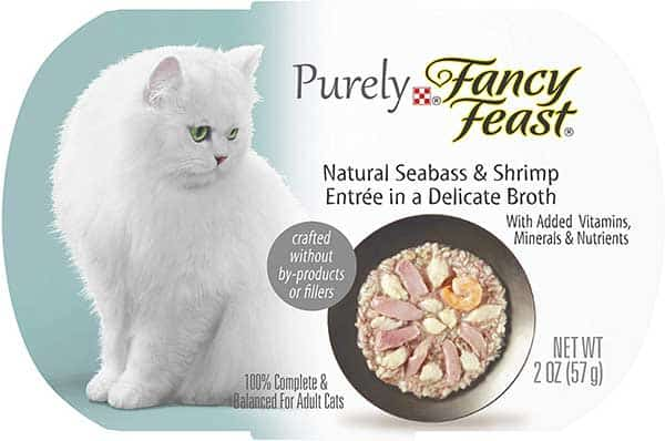 Purina shrimp wet cat food