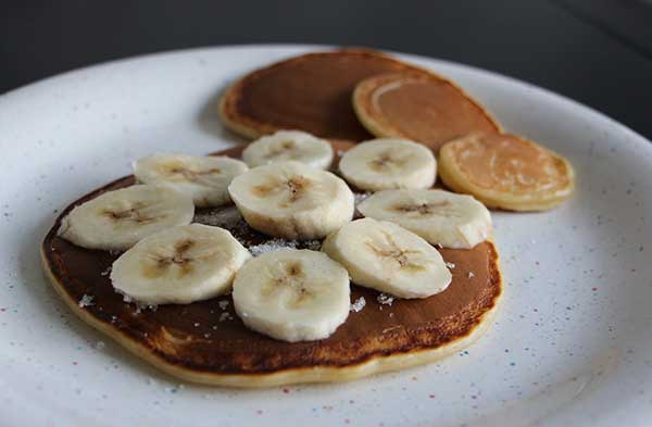 banana pancakes for cats
